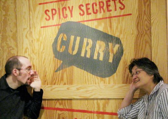 Im Deutschen Currywurst Museum, Foto: ToP